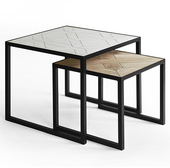 купить журнальный столик Art Wood 500 из дерева и металла