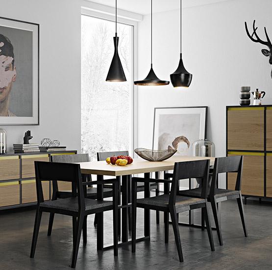 Стол обеденный INFRAME 200-90