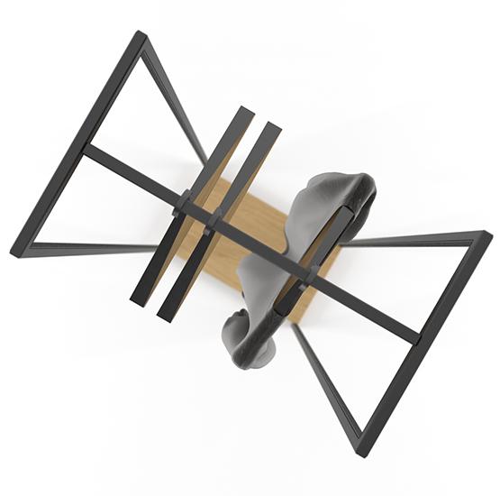 Вешалка Cube 1800 3 полки