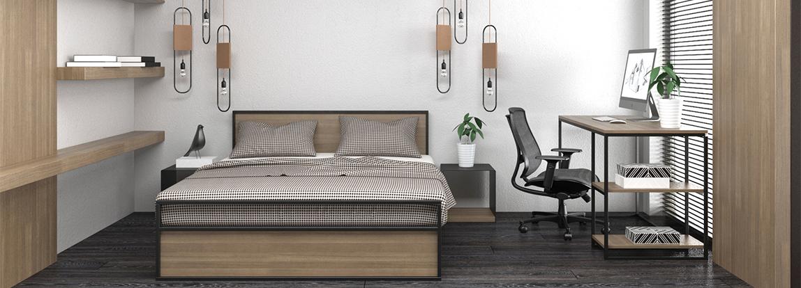 Новинка! Кровати в линейке мебели CUBE44
