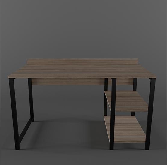 Desk Easy, shelves on the right