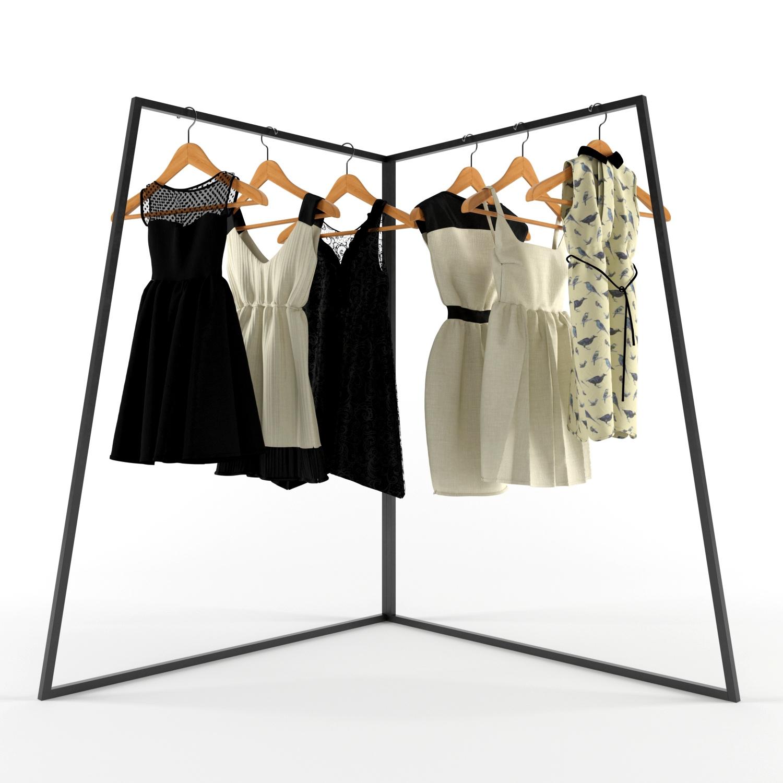 Рейлы для одежды